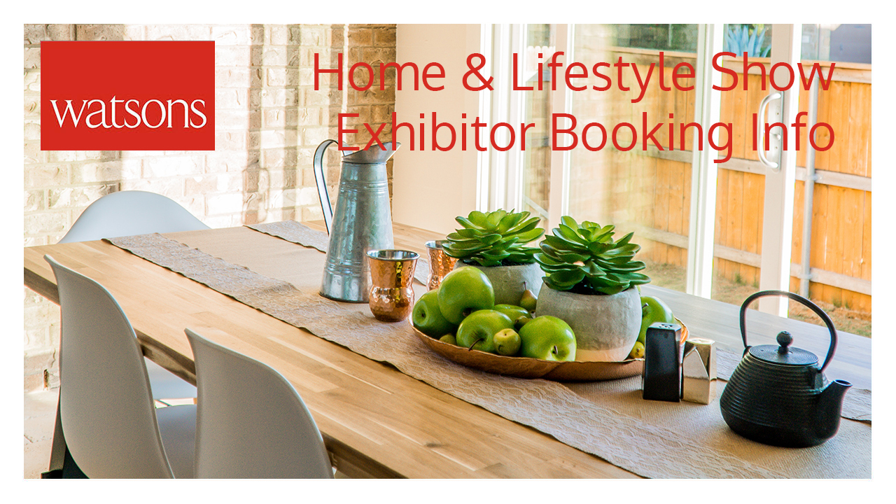 Home & Lifestyle Show 2019 – Exhibitor Booking Form