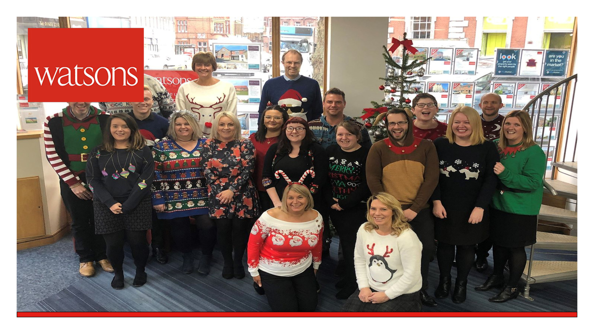 Christmas Jumper Day 2019 Uk.We Re Supporting Christmas Jumper Day 2018 Watsons Property