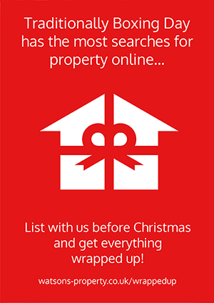 List with us before Christmas and get everything wrapped up!
