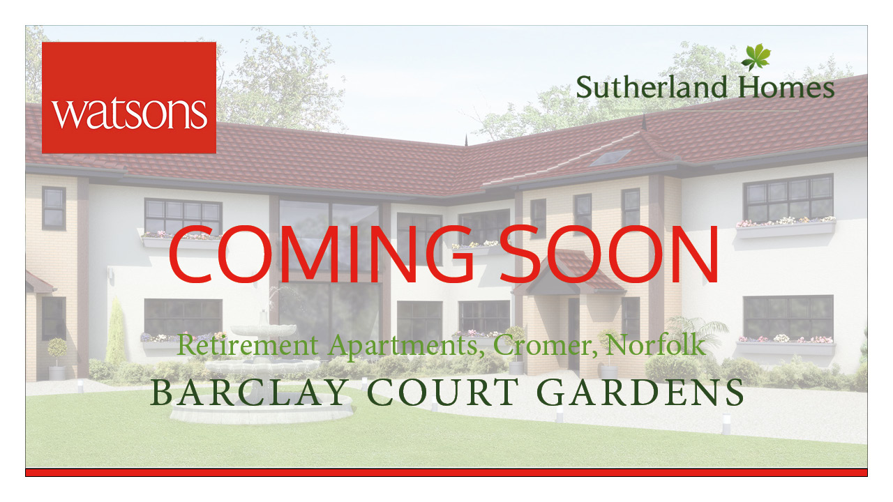 Barclay Court Gardens, Cromer – COMING SOON
