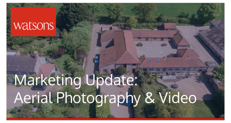 Marketing Update: Aerial Photography and Video