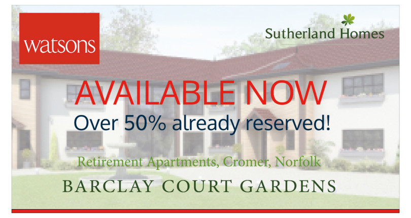 Barclay Court Gardens, Cromer – Available Now!!