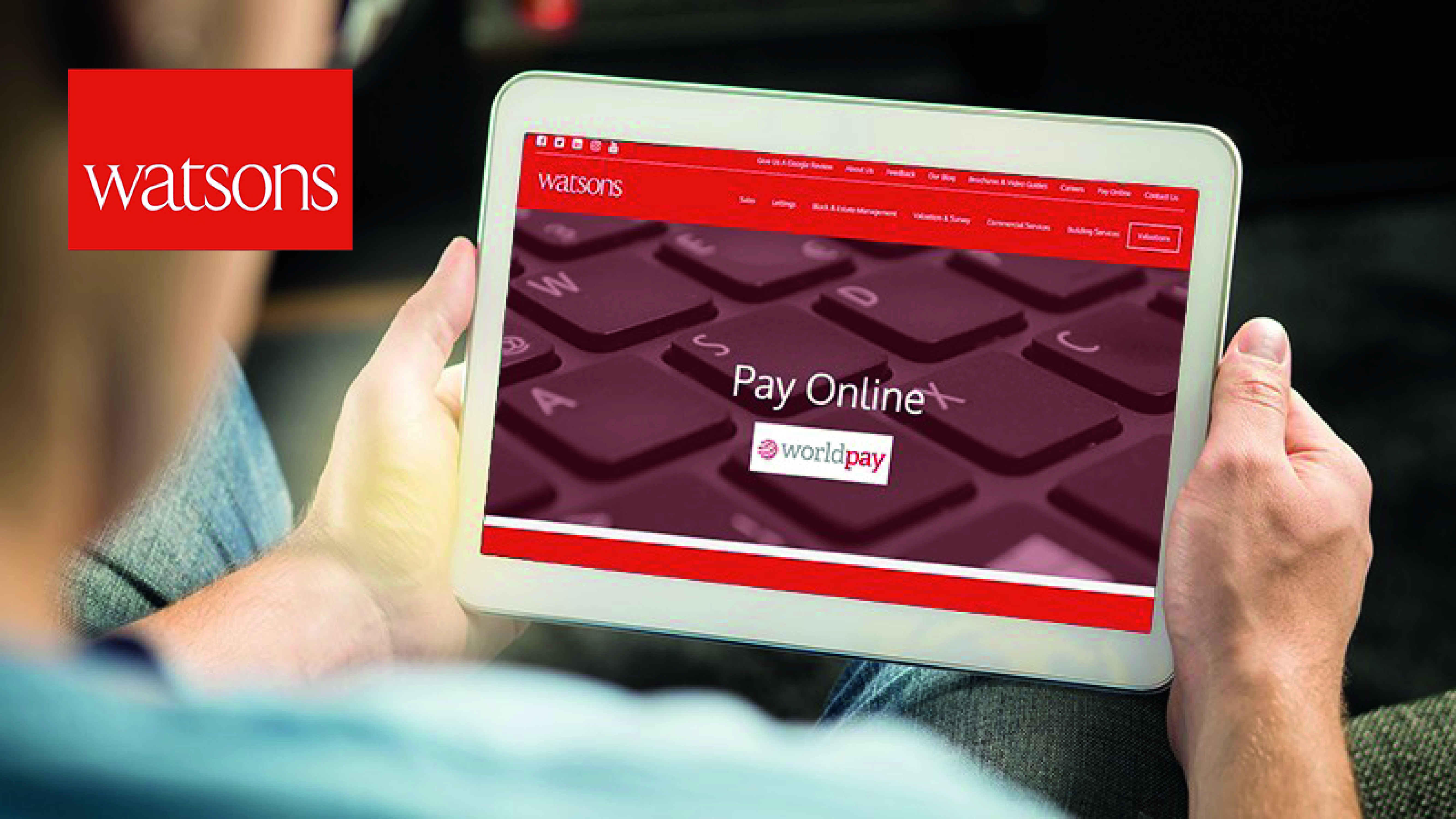 Customers Can Now Pay Online
