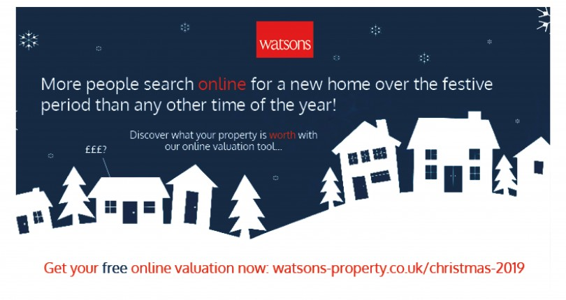 Discover what your property is worth this Festive Season…