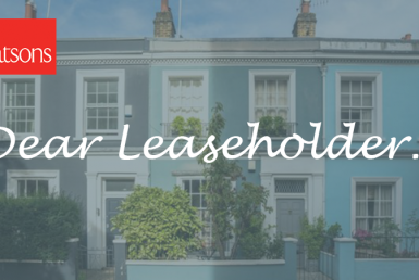 Dear Leaseholder