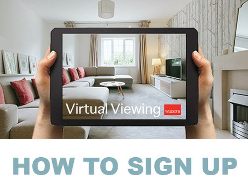 Virtual Viewings - How to sign up!
