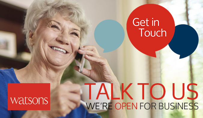 Talk to us, we're open for business!