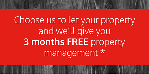 Lettings 3 Months FREE Property Management Offer