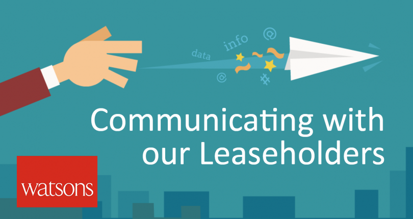 How we communicate with our Leaseholders