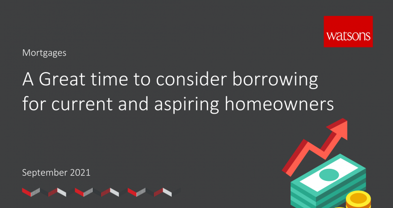 Now is a great time to consider borrowing for current and aspiring homeowners – Mortgage Update with Yellow Brick Mortgages
