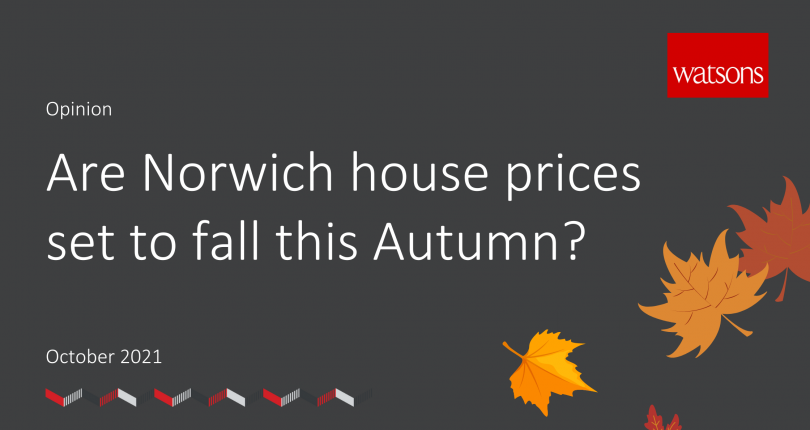 Are Norwich house prices set to fall this Autumn?